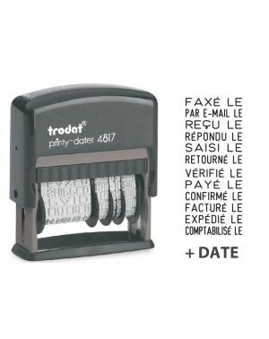 Tampon Dateur Multiformules Trodat Printy 4817A